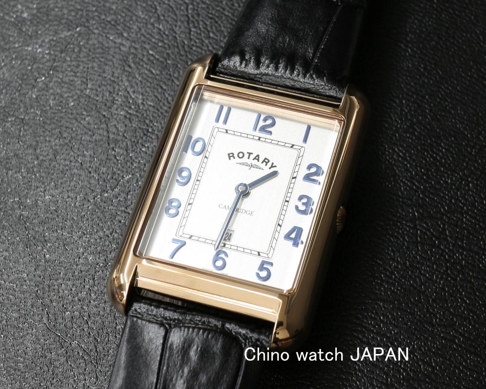 メーカー直売 角型 デイトカレンダー シルバー文字盤 英国トラディショナルデザイン ロータリー ケンブリッジ ROTARY CAMBRIDGE 評価 ブランド 腕時計 GS05284 70 メンズ クォーツ 送料無料