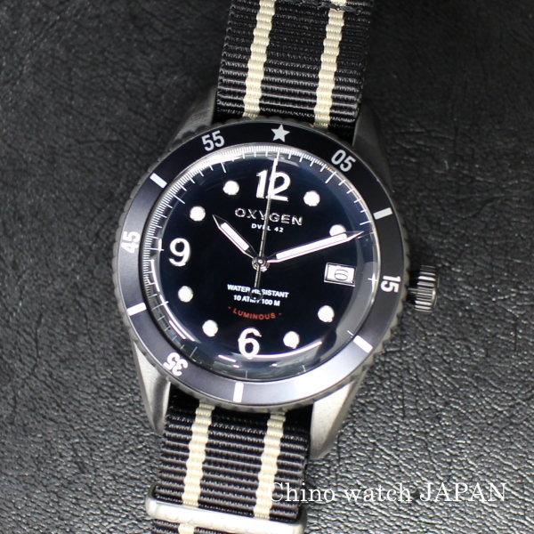 OXYGEN オキシゲン DIVER LEGEND42 ALASKA L-D-ALA-42 クォーツ 腕時計 送料無料 メンズ ブランド
