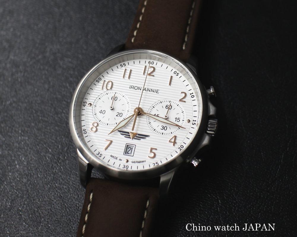 Iron Annie ドイツ製 アイアンアニー 5876-4QZ クォーツクロノグフ ドイツ時計 腕時計 送料無料 メンズ ブランド