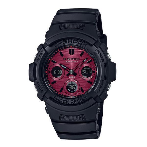 カシオ G-SHOCK AWG-M100SAR-1AJF マルチバンド6 電波ソーラー 腕時計 送料無料 メンズ ブランド