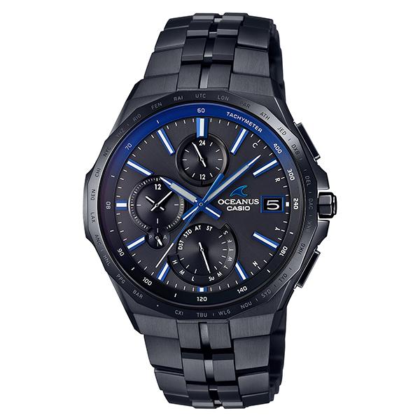 カシオ オシアナス マンタ 電波 ソーラー OCW-S5000B-1AJF 腕時計 時計 メンズ ブランド