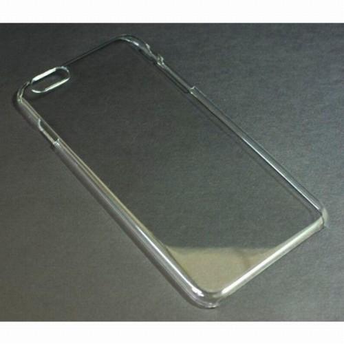 薄型 iPhone6Plus用ケース クリア 100PC UV印刷 熱転写 デコ グルーデコ デコパージュ デコポッジ
