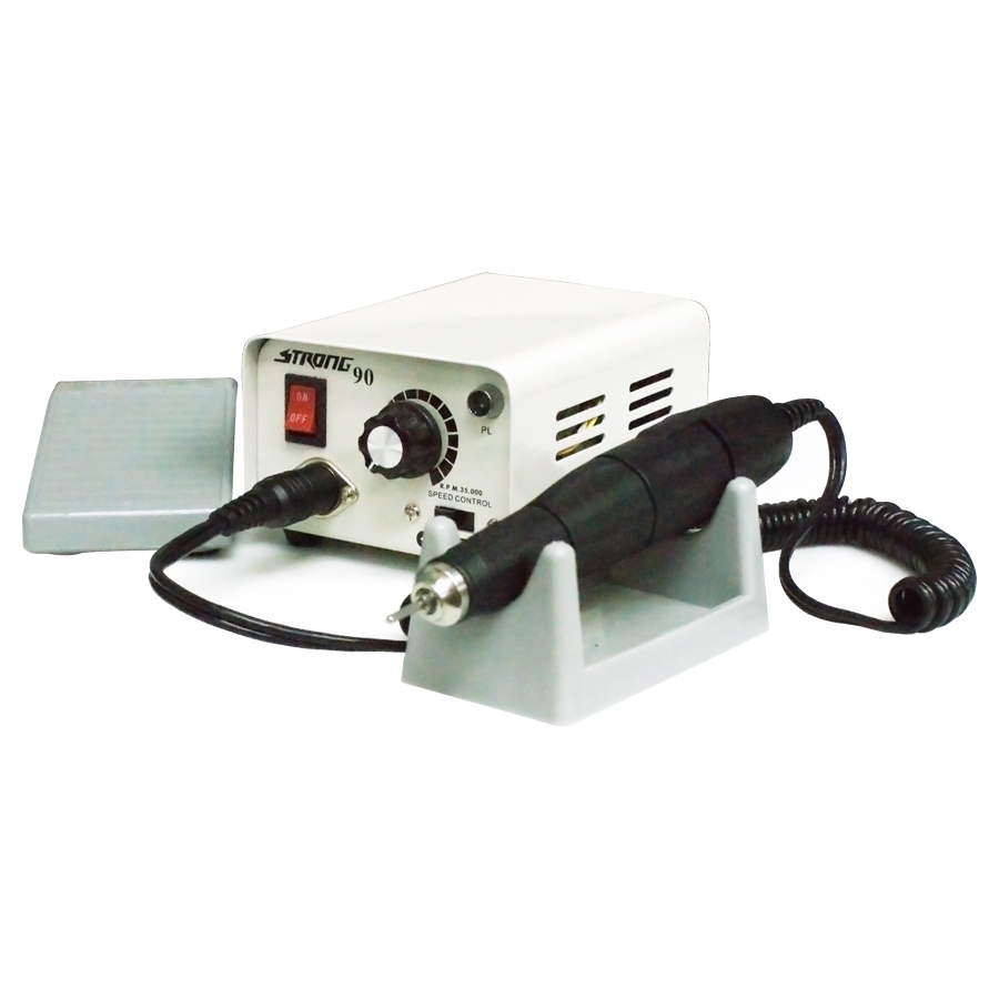 使用感が違う!高性能リューター リューター グラインダー STRONG90 ネイル ビット ハンドピース 電動 工具 DIY ルーター