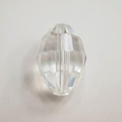 スワロフスキー #5200 15x10mm クリスタル 144個 ビンテージ スワロ ガラス ビーズ