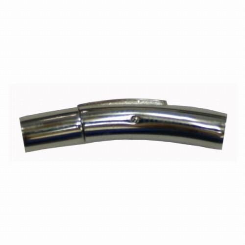 ステンレス製 ワンタッチ 留め金具 3mm用 SL/CL-9000 100個 ネックレス ブレスレット