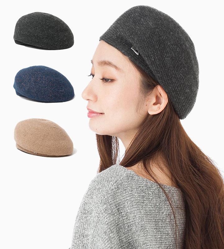 帽子 レディース ベレー帽 フェヌア FENUA PW ブレード 全3色 日本製