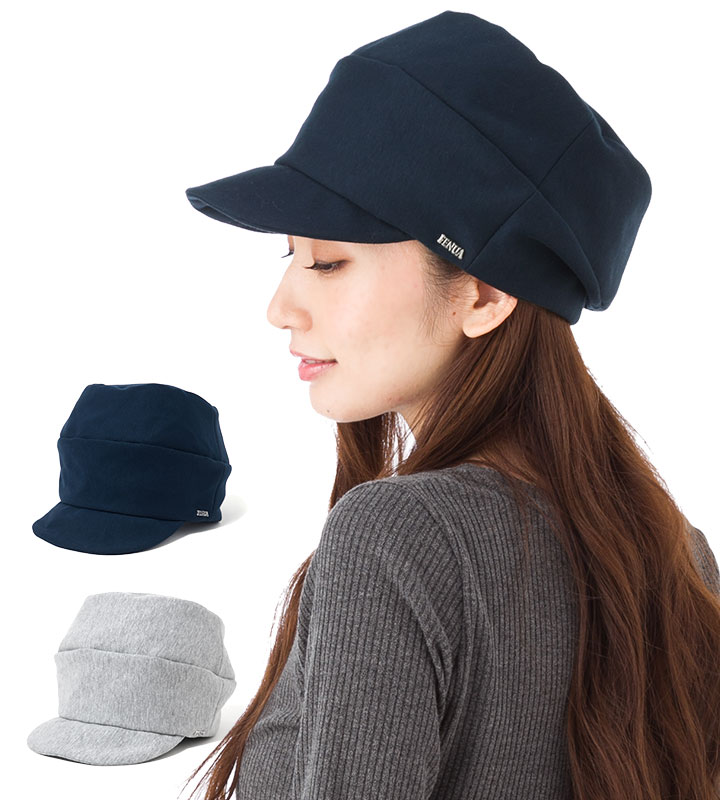 帽子 レディース キャスケット フェヌア FENUA 2段 CAJU 全2色
