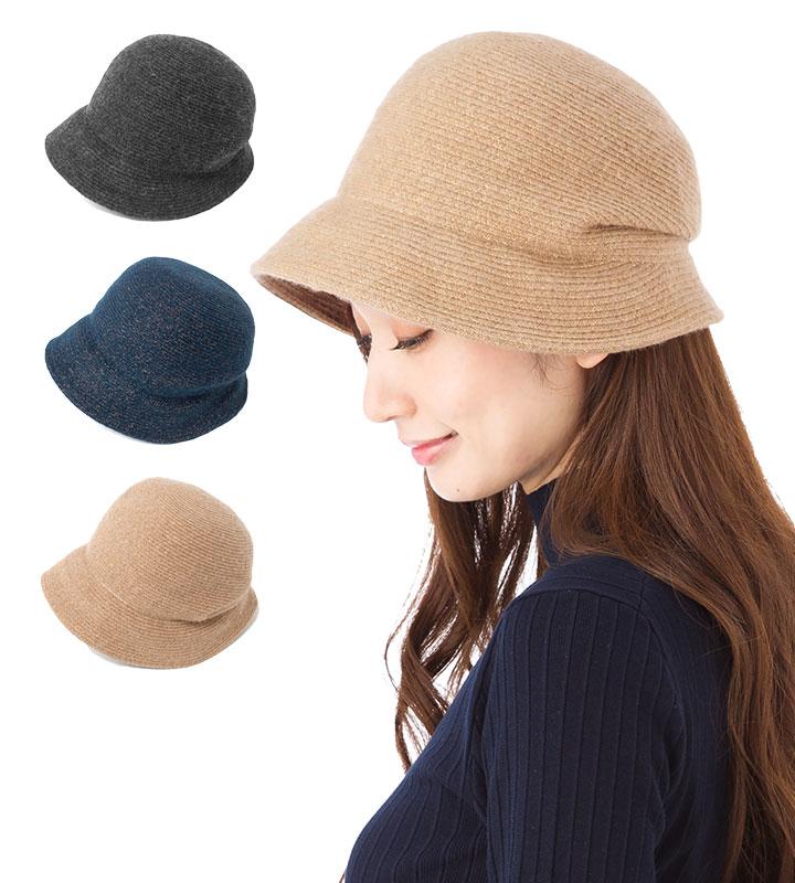 帽子 レディース キャスクロッシェ フェヌア FENUA PW ブレード 全3色 日本製