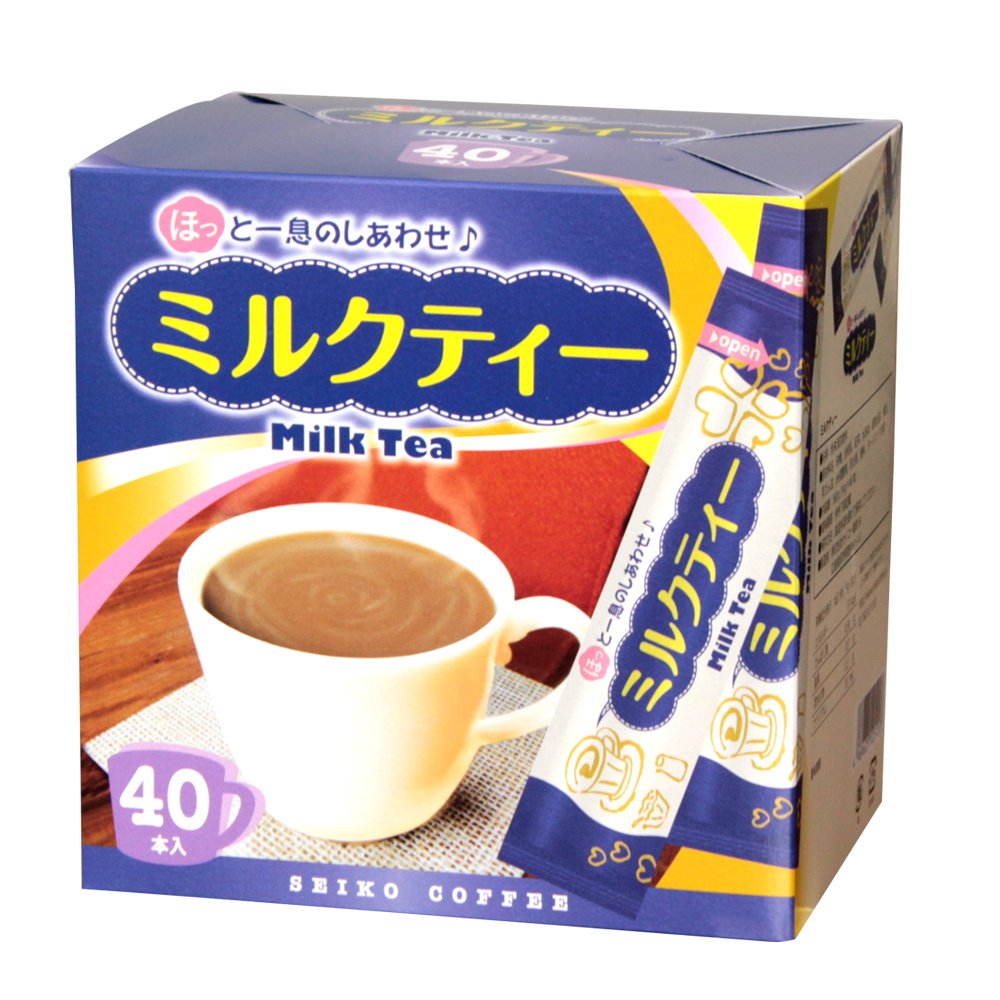 アイスもホットも美味しい人気のミルクティー ほっと一息のしあわせ を味わってほしいスティックタイプです インド産茶葉100%使用 Seasonal Wrap入荷 インスタントコーヒースティック スティック カフェ工房 ミルクティー40本 マーケティング