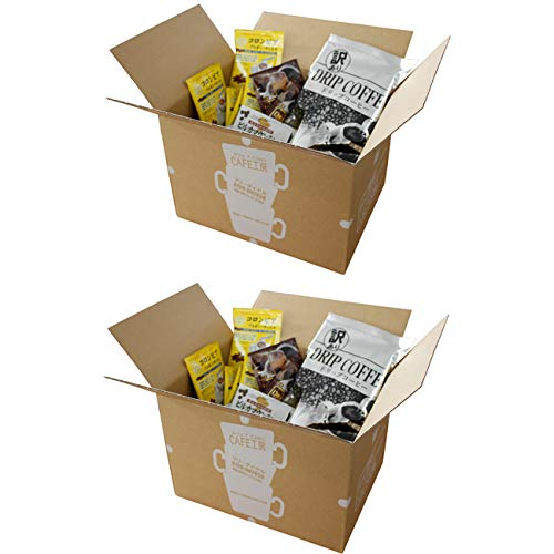 激安 送料無料 推奨 開けてびっくり た~っぷり200袋入った訳ありドリップコーヒーです 海外輸入 訳ありドリップコーヒー 数量限定 カフェ工房 100袋×2箱