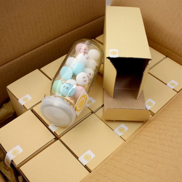 ケース15本入 スマイルシュガー(カラー)瓶入 広島発コーヒー通販カフェ工房