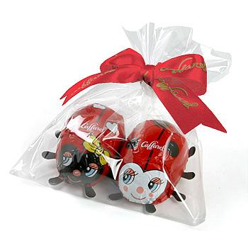 チョコレートは別にお買い求め下さい Caffarel カファレル ラッピング袋 誕生日 お祝い 公式通販