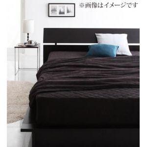 ★ポイントUp4.5倍★20色から選べるマイクロファイバー毛布・パッド 毛布&パッド一体型ボックスシーツセット クイーン [00]