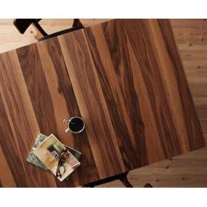 ★ポイントUp4.5倍★天然木ウォールナットエクステンションダイニング【Nouvelle】ヌーベル/テーブル(W120-150-180) [00]