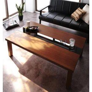 ★ポイントUp5倍★アーバンモダンデザインこたつテーブル【Brent Wood】ブレントウッド/長方形(120×80) [00]