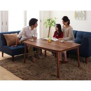 ★ポイントUp5倍★4段階で高さが変えられる 天然木ウォールナット材高さ調整こたつテーブル Nolan ノーラン 4尺長方形(80×120cm)[00]