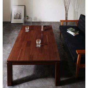 ★ポイントUp7倍★天然木モザイク調デザイン継脚こたつテーブル Vestrum ウェストルム 4尺長方形(80×120cm)[1D][00]