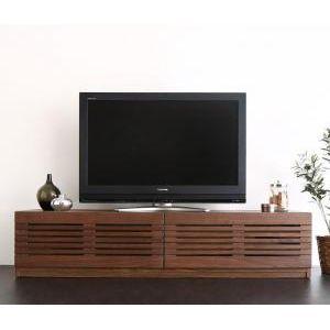 ★ポイントUp5.5倍★完成品天然木 ルーバーデザインテレビボード Suare スアレ 幅150cm 奥行47.5cm[4D][00]