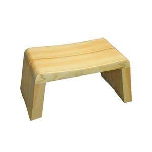 ★ポイントUp4.5倍★高級日光桧 匠の風呂椅子(癒し)(Sサイズ)【代引不可】 [01]