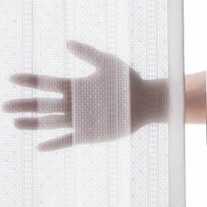 ★ポイントUp4.5倍★多機能ミラーレースカーテン 幅150cm 丈133~258cm ドレープカーテン 防炎 遮熱 アレルブロック 丸洗い 日本製 ホワイト 33101205【代引不可】 [11]