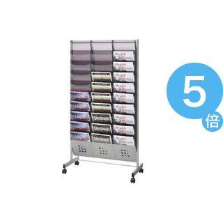 ★ポイントUp5倍★トヨダプロダクツ パンフレットスタンド 3列10段 A4サイズ PS-310 1台[21]