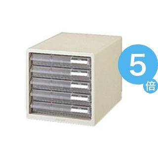 ★ポイントUp5倍★(業務用10セット) プラス レターケース LC-105A A4 浅5 ホワイト[21]