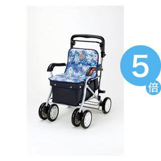 ★ポイントUp5倍★マキテック シルバーカー ノーブル (2)青花柄 ENB-011H[21]
