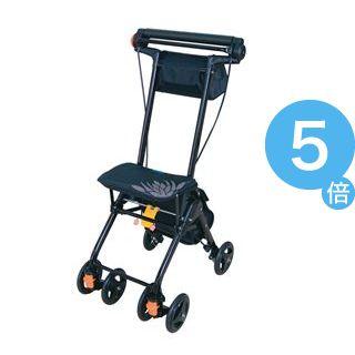 ★ポイントUp5倍★幸和製作所 シルバーカー テイコブナノンDX CPS02(1)ブラック CPS02[21]