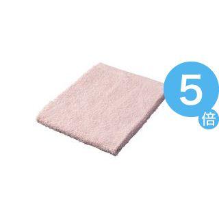 ★ポイントUp5倍★(業務用50セット) ジョインテックス カラータオル5枚入 ピンク N108J-PK ×50セット[21]