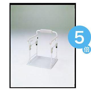 ★ポイントUp5倍★アロン化成 トイレ用手すり ポータブルトイレ用 フレーム ささえ 533-070[21]