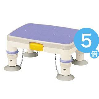 ★ポイントUp5倍★アロン化成 浴槽台 安寿高さ調節付浴槽台R (1)ミニ ブルー 536-483[21]