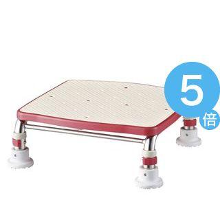 ★ポイントUp5倍★アロン化成 浴槽台 ステンレス製浴槽台Rジャスト(1)10 レッド 536-490[21]