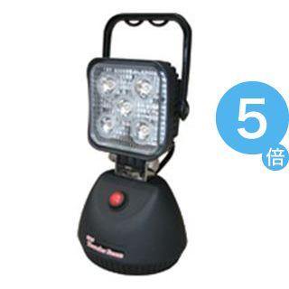 ★ポイントUp5倍★熱田資材 LED投光器 充電式サンダービームLED-J15[21]