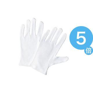 ★ポイントUp5倍★(業務用60セット) 川西 スムス手袋 マチ無し 12双組 M[21]