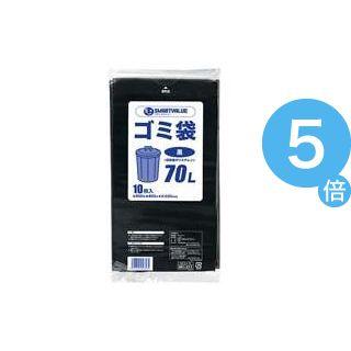★ポイントUp5倍★(業務用100セット) ジョインテックス ゴミ袋 LDD 黒 70L 10枚 N210J-70[21]