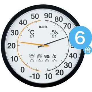 ★ポイントUp6倍★タニタ 温湿度計 TT-554 ブラック[21]