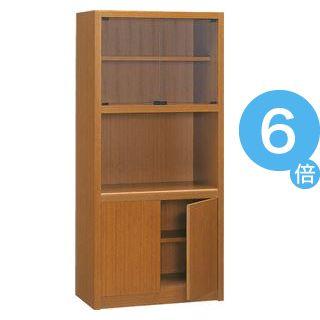 ★ポイントUp6倍★プレジデント用書棚 PK-818B 【社長室、役員用家具】[21]