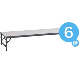★ポイントUp6倍★ゼミテーブル座卓 TAB-1860 ライトグレー[21]