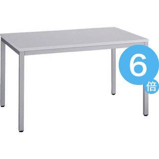 ★ポイントUp6倍★ミーティング用テーブル 幅120cm AD-1280 ホワイト[21]