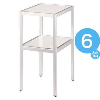 ★ポイントUp6倍★コーナーテーブル CT-350W ホワイト[21]