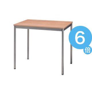 ★ポイントUp6倍★ユニットテーブル(W800×D600mm・ナチュラル木目)[21]