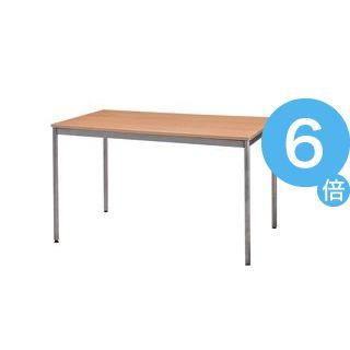 ★ポイントUp6倍★ユニットテーブル(W1200×D750mm・ナチュラル木目)[21]