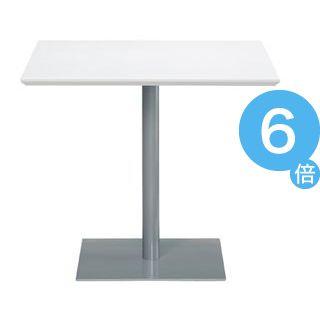 ★ポイントUp6倍★アール・エフ・ヤマカワ テーブル RFRT-800SW ホワイト[21]