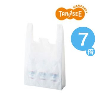 ★ポイントUp7倍★(まとめ)乳白レジ袋 No60 100枚入×60[21]