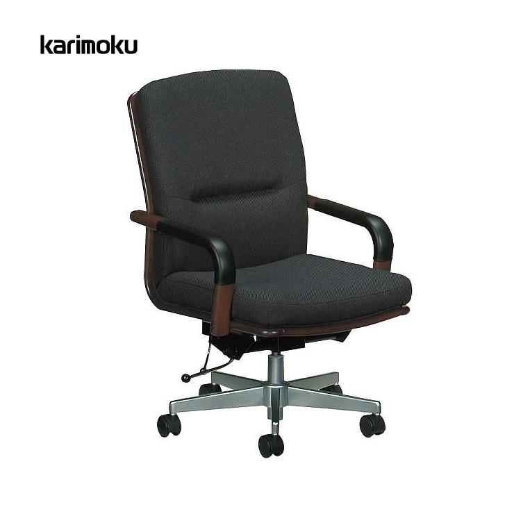 カリモク デスクチェアーXS0510TW