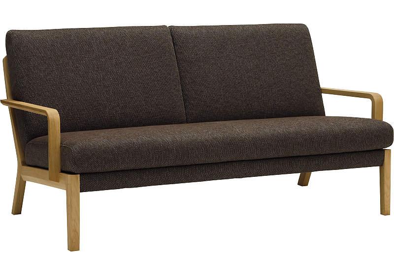 カリモク 2人掛椅子ロング WU4512WE