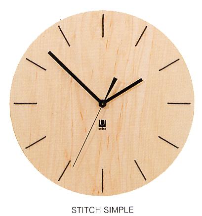 앤 브라 スティッチシンプルクロック 벽 시계