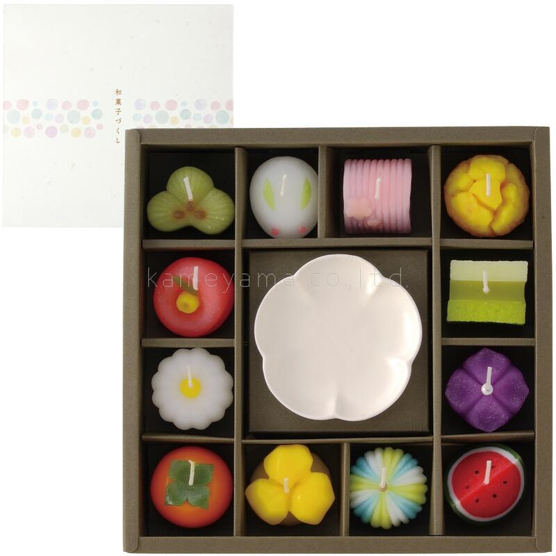 ご進物 お供え 和菓子 和風 ギフトセット ◆セール特価品◆ candle kameyama カメヤマ 和菓子づくしギフトセット 直営ストア キャンドル