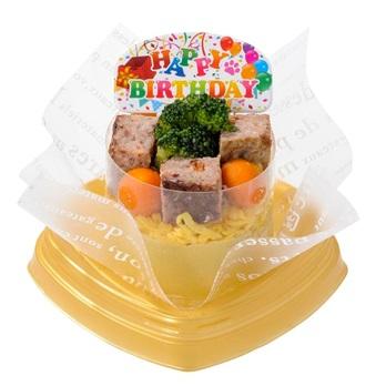飼い主様も一緒にお召し上がりいただけるデリ 数量は多 誕生日ケーキ バースデーケーキパーティケーキ お祝いケーキ ペットケーキ 冷凍ケーキ 日本最大級の品揃え コミフ 国産 愛犬のお誕生日をお祝いしよう ドッグフード デコズドッグカフェ 愛犬用 バースデーデリケーキ