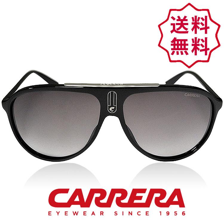 CARRERA カレラ サングラス シャイニーブラック/グレー [Carrera 6015/S 0d28ic][sunglasses メガネ 眼鏡][ケースセット][メンズ レディース ユニセックス][送料無料]ブランド カレラ サングラス